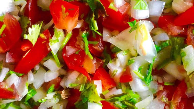 Receta Salsa Pico de Gallo Tradicional